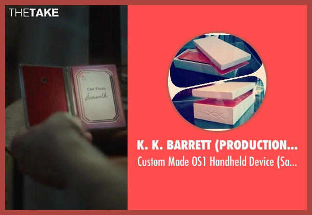 K. K. Barrett (Production Designer) device from Her seen with Unknown Actor (Unknown Character)