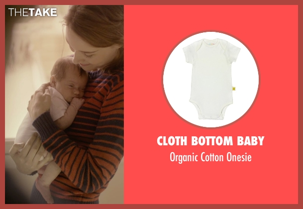 Cloth Bottom Baby white onesie from Her seen with Unknown Actor (Unknown Character)