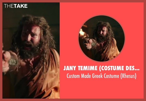 Jany Temime (Costume Designer) costume from Hercules seen with Unknown Actor (Unknown Character)