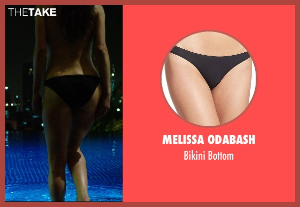 Melissa Odabash black bottom from Hitman: Agent 47 seen with Unknown Actor (Unknown Character)