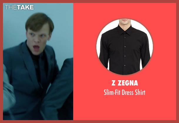 Z Zegna black shirt from Hitman: Agent 47 seen with Unknown Actor (Unknown Character)