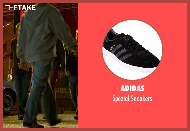 Adidas black sneakers from Horrible Bosses 2 seen with Unknown Actor (Unknown Character)