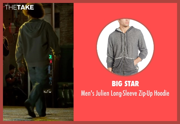 Big Star gray hoodie from Horrible Bosses 2 seen with Unknown Actor (Unknown Character)