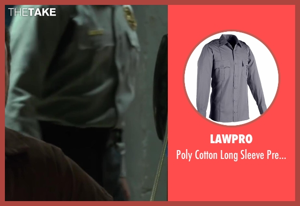 LawPro gray shirt from Horrible Bosses 2 seen with Unknown Actor (Unknown Character)
