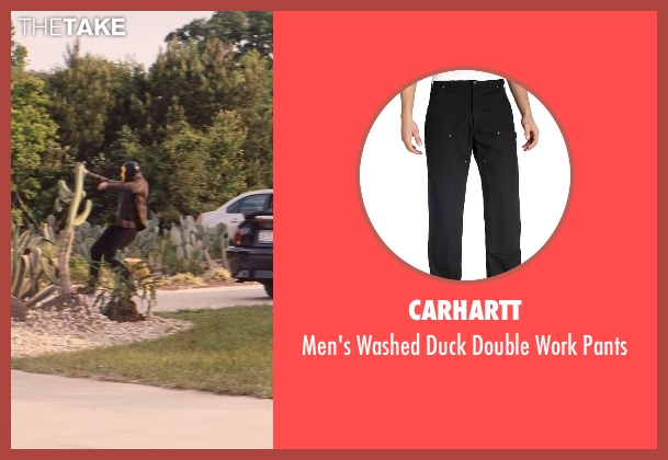 Carhartt black pants from Hot Pursuit seen with Unknown Actor (Unknown Character)