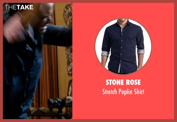 Stone Rose blue shirt from Hot Pursuit seen with Unknown Actor (Unknown Character)