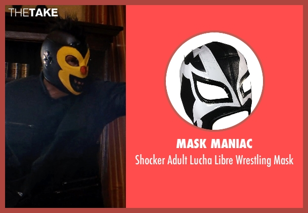 Mask Maniac mask from Hot Pursuit seen with Unknown Actor (Unknown Character)