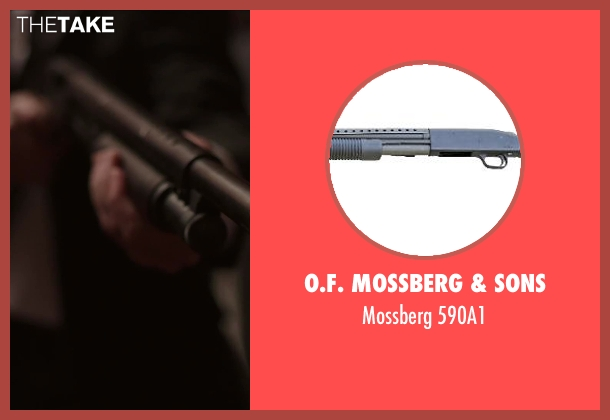 O.F. Mossberg & Sons 590a1 from Hot Tub Time Machine 2 seen with Unknown Actor (Unknown Character)