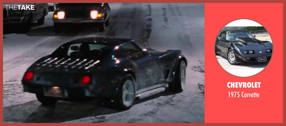Chevrolet corvette from Hot Tub Time Machine 2 seen with Unknown Actor (Unknown Character)
