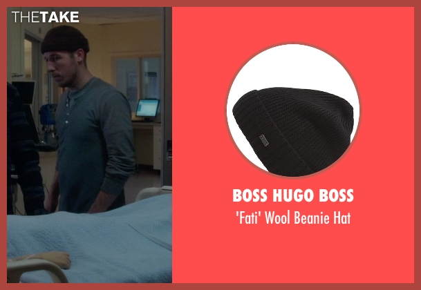 Boss Hugo Boss black hat from If I Stay seen with Unknown Actor (Unknown Character)