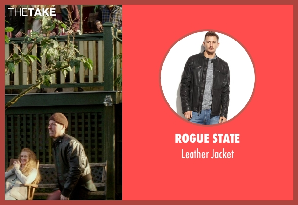 Rogue State black jacket from If I Stay seen with Unknown Actor (Unknown Character)