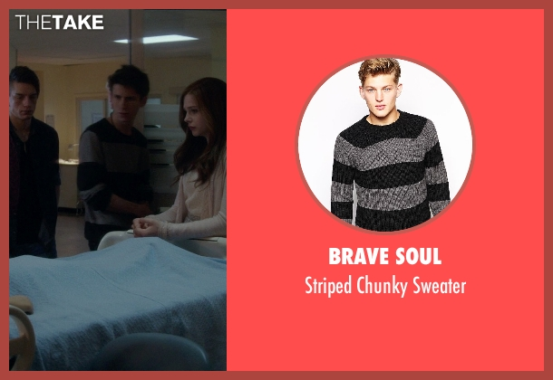 Brave Soul black sweater from If I Stay seen with Unknown Actor (Unknown Character)