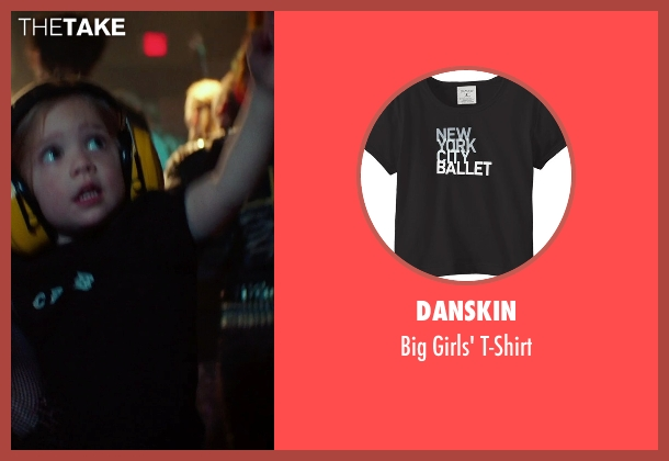 Danskin black t-shirt from If I Stay seen with Unknown Actor (Unknown Character)