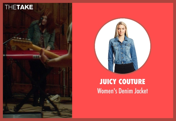 Juicy Couture blue jacket from If I Stay seen with Unknown Actor (Unknown Character)