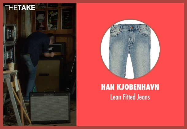 Han Kjobenhavn blue jeans from If I Stay seen with Unknown Actor (Unknown Character)