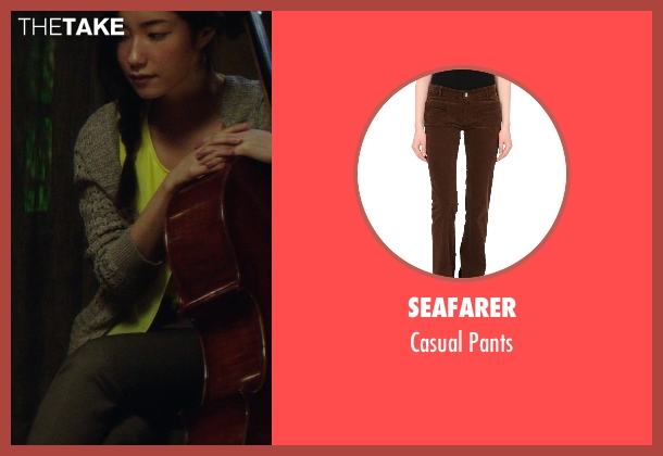 Seafarer brown pants from If I Stay seen with Unknown Actor (Unknown Character)