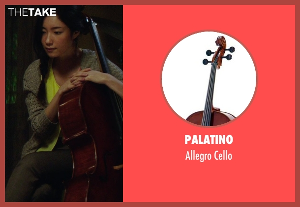 Palatino cello from If I Stay seen with Unknown Actor (Unknown Character)
