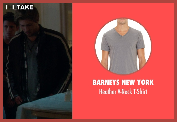 Barneys New York gray t-shirt from If I Stay seen with Unknown Actor (Unknown Character)