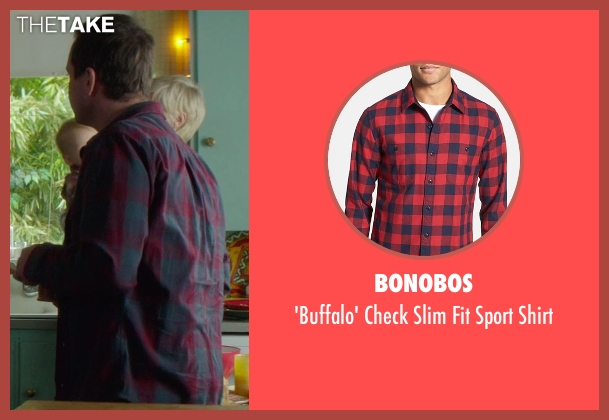Bonobos red shirt from If I Stay seen with Unknown Actor (Unknown Character)