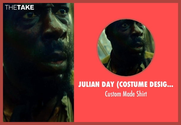 Julian Day (Costume Designer) shirt from In the Heart of the Sea seen with Unknown Actor (Unknown Character)