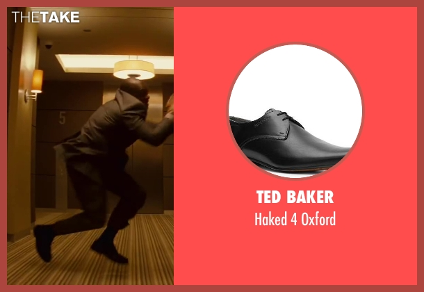 TED BAKER black oxford from Inception seen with Unknown Actor (Unknown Character)