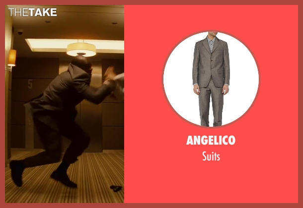 ANGELICO gray suits from Inception seen with Unknown Actor (Unknown Character)