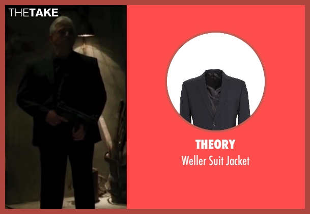 Theory black jacket from Iron Man 3 seen with Unknown Actor (Unknown Character)