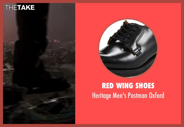 Red Wing Shoes black oxford from Iron Man 3 seen with Unknown Actor (Unknown Character)