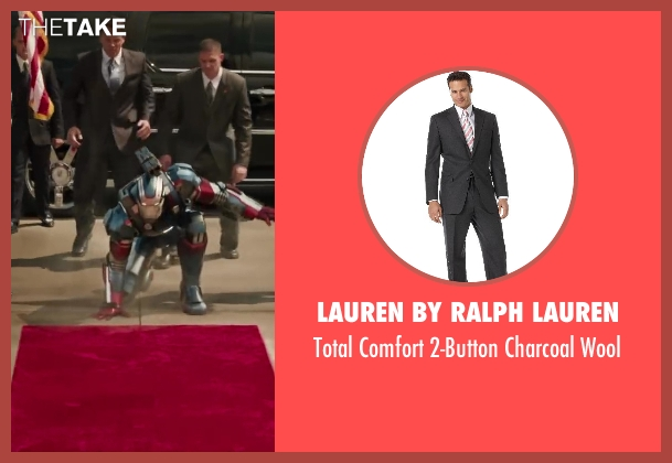 Lauren by Ralph Lauren black wool from Iron Man 3 seen with Unknown Actor (Unknown Character)