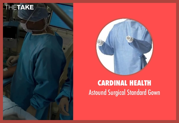 Cardinal Health gown from Iron Man 3 seen with Unknown Actor (Unknown Character)