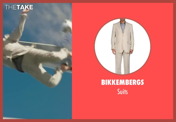 BIKKEMBERGS suits from Iron Man 3 seen with Unknown Actor (Unknown Character)