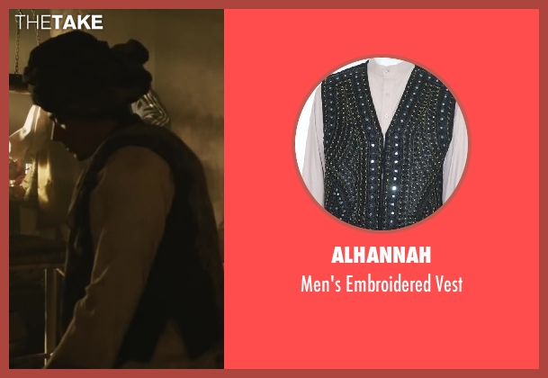 Alhannah vest from Iron Man 3 seen with Unknown Actor (Unknown Character)