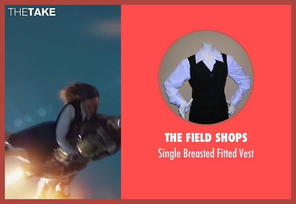 The Field Shops vest from Iron Man 3 seen with Unknown Actor (Unknown Character)