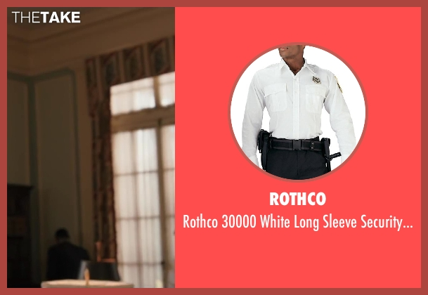 Rothco white shirt from Iron Man 3 seen with Unknown Actor (Unknown Character)