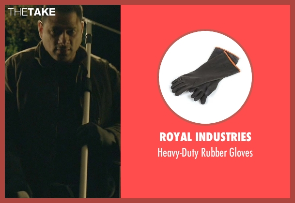 Royal Industries black gloves from John Wick seen with Unknown Actor (Unknown Character)