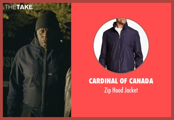 Cardinal of Canada blue jacket from John Wick seen with Unknown Actor (Unknown Character)