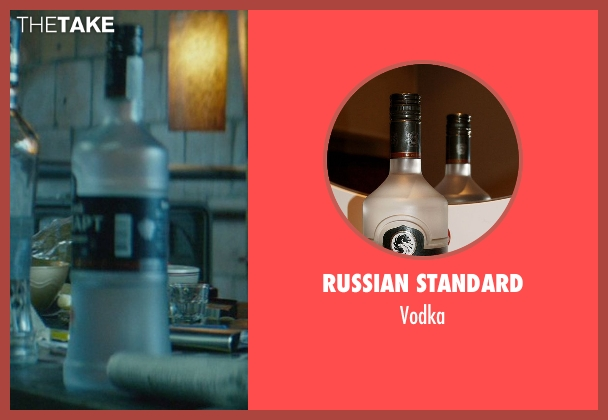 Russian Standard vodka from John Wick seen with Unknown Actor (Unknown Character)