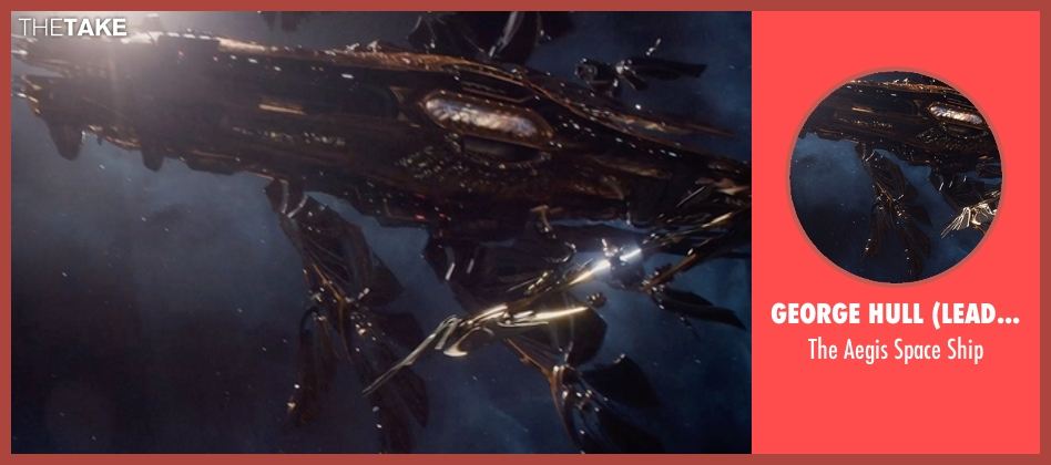 George Hull (Lead Conceptual Designer) ship from Jupiter Ascending seen with Unknown Actor (Unknown Character)