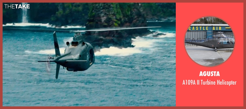 Agusta helicopter from Jurassic World seen with Unknown Actor (Unknown Character)