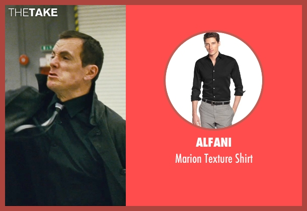 Alfani black shirt from Kick-Ass seen with Unknown Actor (Unknown Character)