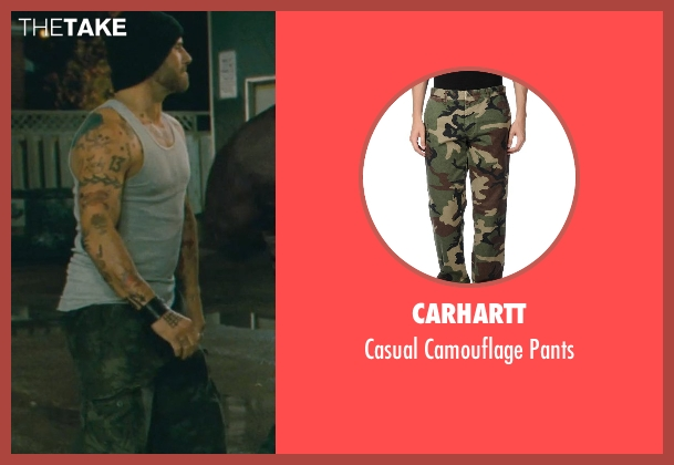 Carhartt green pants from Kick-Ass seen with Unknown Actor (Unknown Character)
