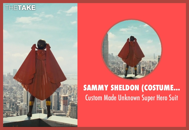 Sammy Sheldon (Costume Designer) suit from Kick-Ass seen with Unknown Actor (Unknown Character)