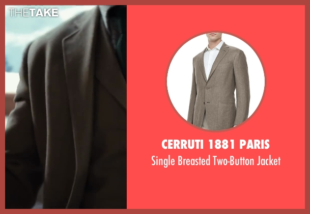 Cerruti 1881 Paris brown jacket from Kingsman: The Secret Service seen with Unknown Actor (Unknown Character)