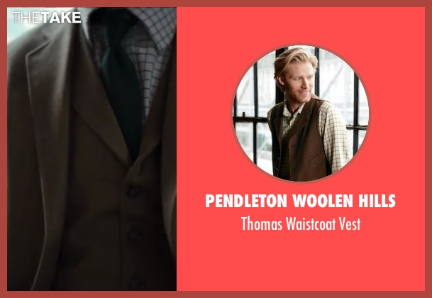 Pendleton Woolen Hills brown vest from Kingsman: The Secret Service seen with Unknown Actor (Unknown Character)