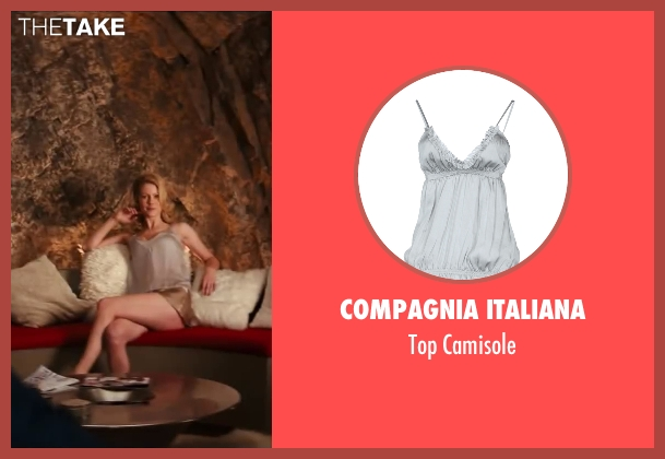 Compagnia Italiana gray camisole from Kingsman: The Secret Service seen with Unknown Actor (Unknown Character)
