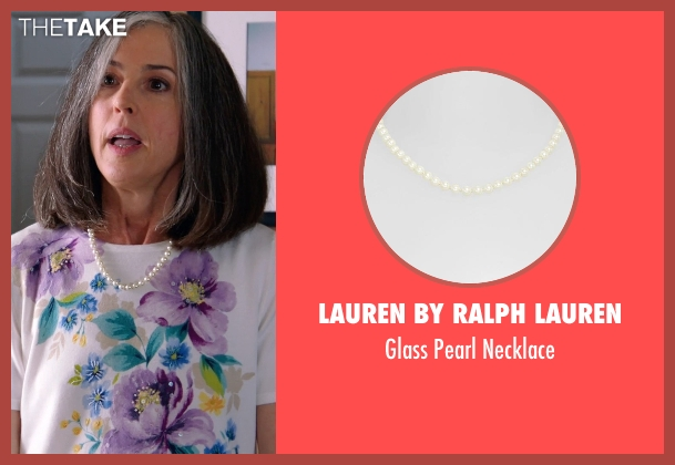 Lauren by Ralph Lauren white necklace from Laggies seen with Unknown Actor (Unknown Character)