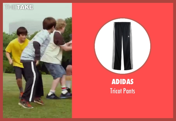 Adidas black pants from Let's Be Cops seen with Unknown Actor (Unknown Character)