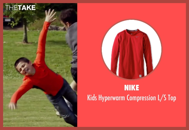 Nike red top from Let's Be Cops seen with Unknown Actor (Unknown Character)