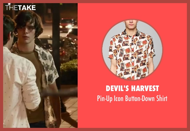 Devil's Harvest white shirt from Let's Be Cops seen with Unknown Actor (Unknown Character)