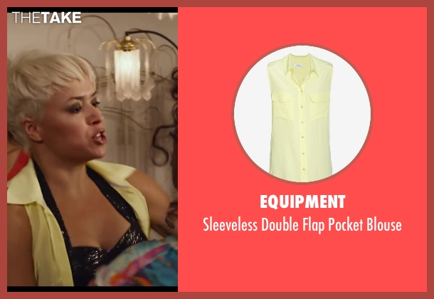 Equipment yellow blouse from Let's Be Cops seen with Unknown Actor (Unknown Character)